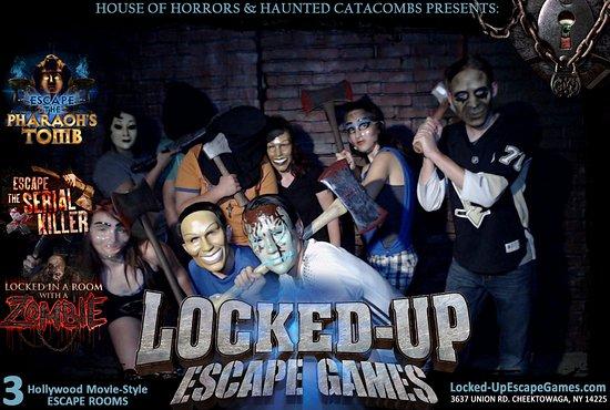 Escape Room Buffalo Serial Killer