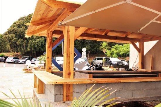 Santa-Maria-Poggio, France: le futur bar à vin - en cours