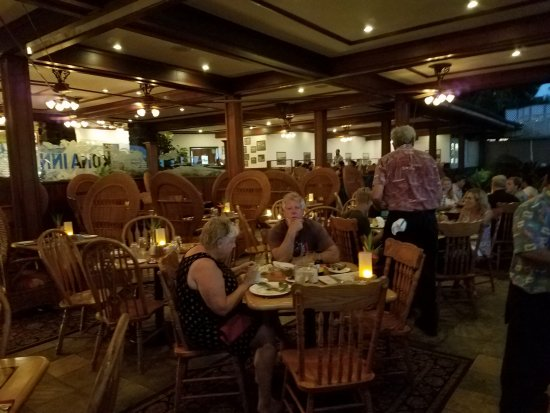Beautiful dining area picture of kona inn restaurant for Beautiful dining area