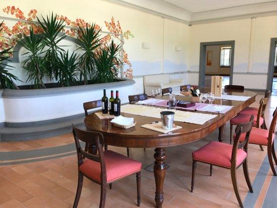 Montefalco, Italia: La degustazione