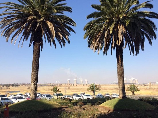 Secunda, Afrique du Sud : The view from the hotel