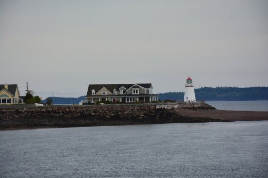 Saint Andrews, Canada: As seen from the pier