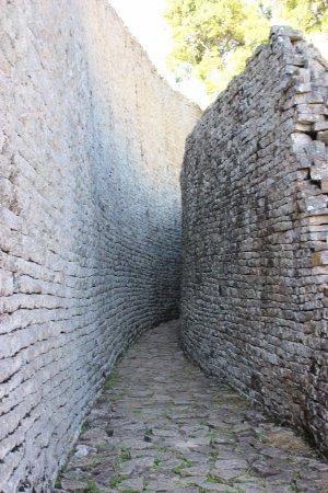 Great Zimbabwe: The walled corridor