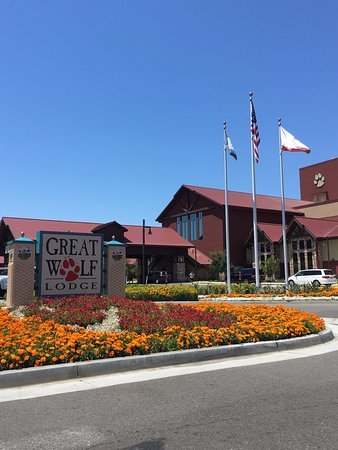 Entrance Picture of Great Wolf Lodge Southern California