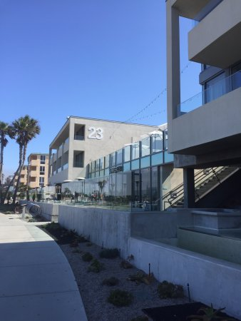 Tower23 Hotel: It's right on the boardwalk