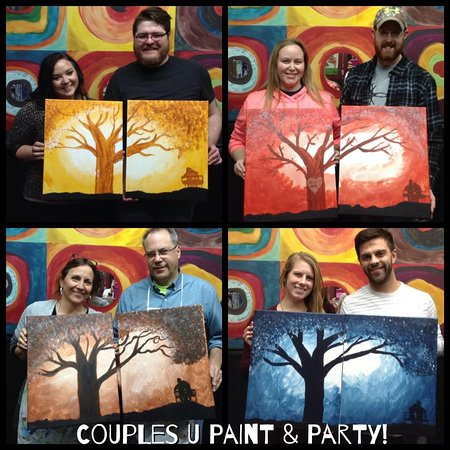 Wausau, WI: Couples Night Paint Party!