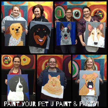 Wausau, WI: Paint Your Pet Paint Party!
