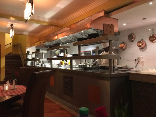 Pango Brasserie at the Fairview: Wonderful food, great deserts.