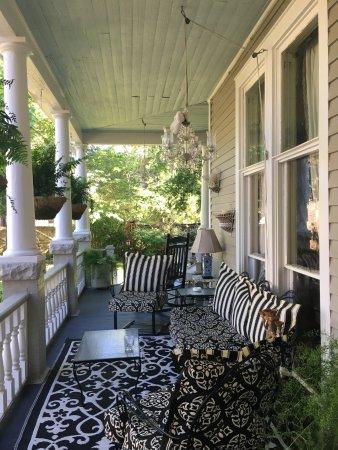 Watkinsville, GA: Die Veranda