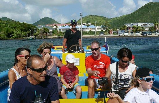 Saint-Martin, St. Maarten: En route vers Tintamarre