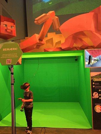 Universe: Minecraft som VR = GENIALT!!