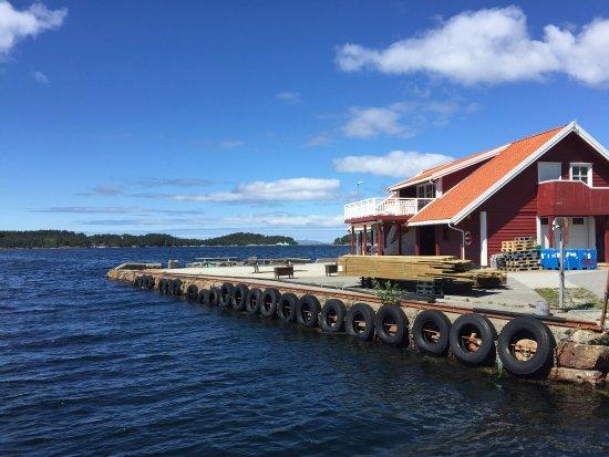 Bilde fra Svanøy Kro