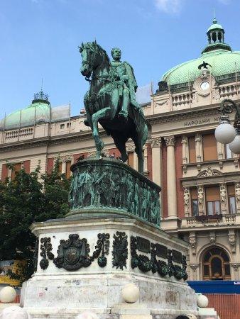 Prince Mihailo Monument