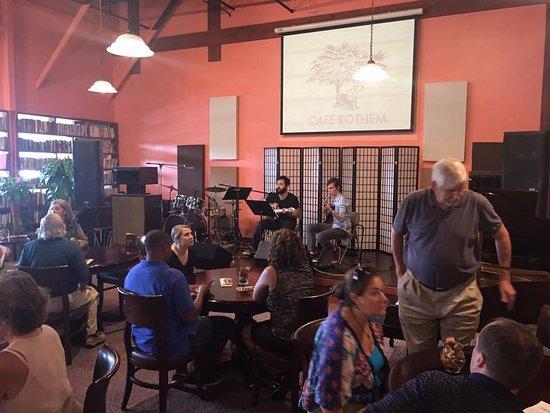 Duluth, GA: Live Music at Cafe Rothem.