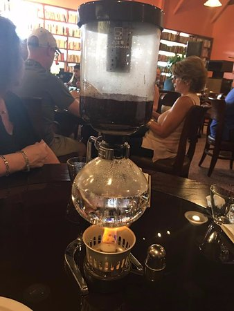 Duluth, GA: Coffee brewing at Cafe Rothem!