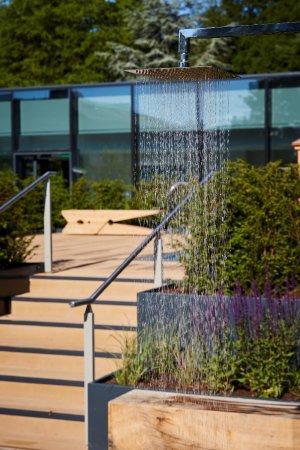 Rudding Park Hotel: Roof Top Spa Garden