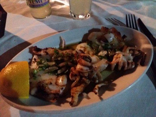 Vasiliko : iets met octopus , heel lekker