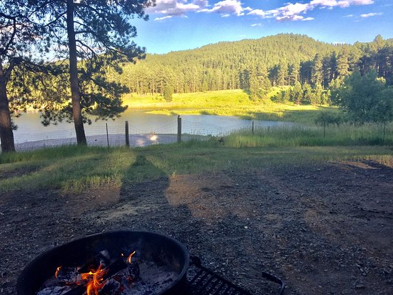 Pactola reservoir campground silver city sd review for Pactola lake cabins