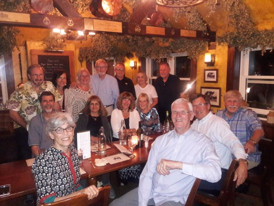 Thurnham, UK: 40 Year Reunion Colleagues warmly greeted