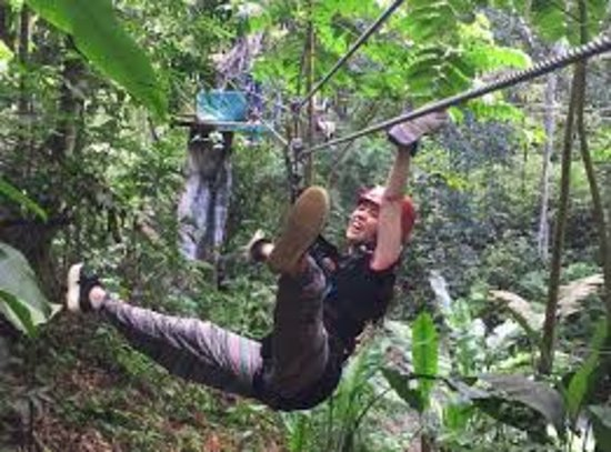 Vieux Fort, St. Lucia: Zip Lining