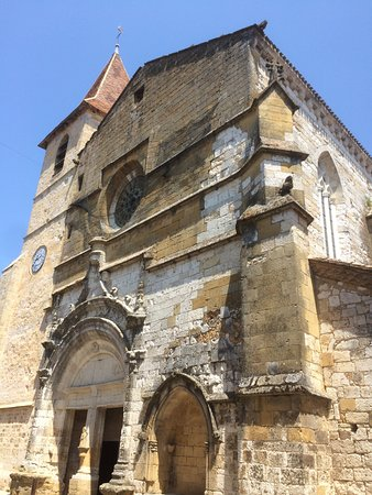 Church at Monpazier