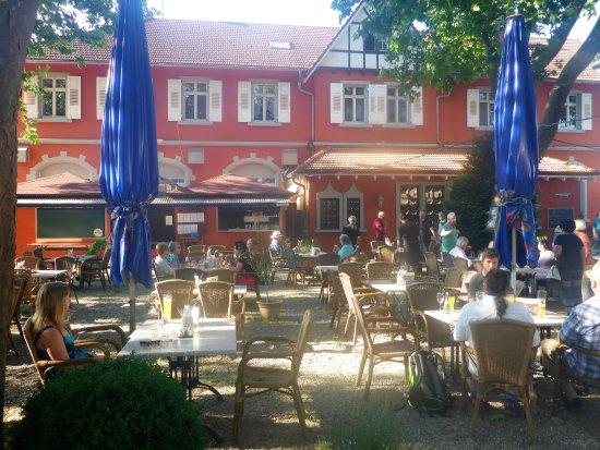 Hotel Beim Schupi: the Biergarten