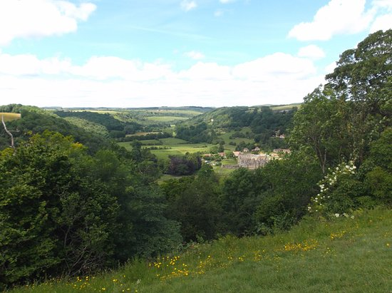 Helmsley, UK: Great views of the valley
