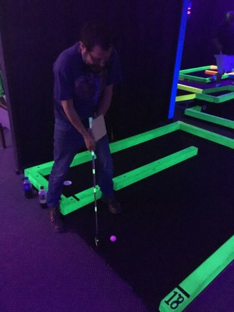 Glow in one mini Golf