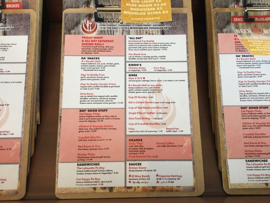 Tahlequah, OK: Linney Breaux's Cajun Eatery