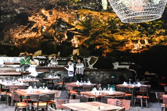 Punta Mujeres, Spanien: Restaurante do Jameos del Agua