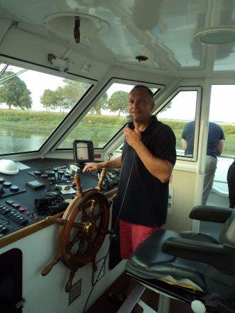 Bateau de la Baie de Somme: Notre Capitaine Rudy , MERCI