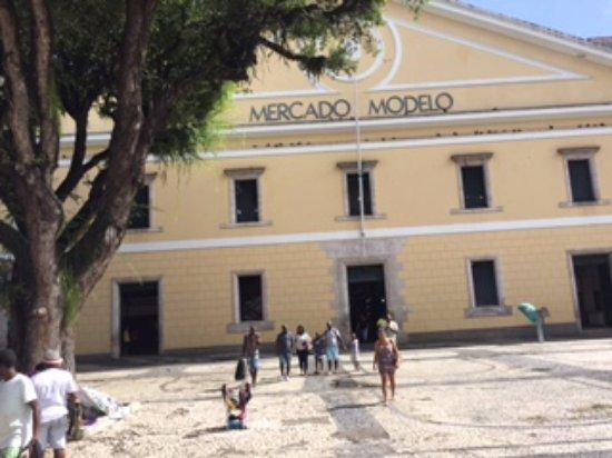 Mercado Modelo: entrada do local