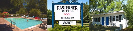 Easterner Motel: This banner is comprised of three photos which feature our motel at its best.