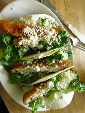 Cherry Valley, NY: Fish tacos