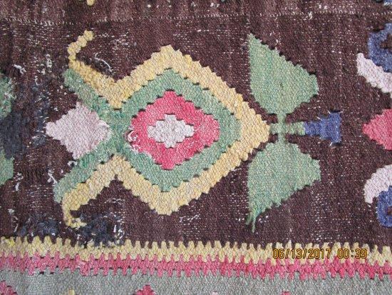 Castlegar, Canadá: Doukhobor rug detail.