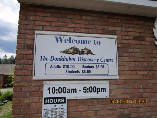 Castlegar, Canadá: Doukhobor Discovery Center