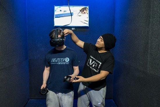 VR Zone Virtual Reality Arcade