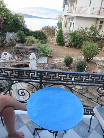 Archontiko Art Hotel : Terras / Balkon