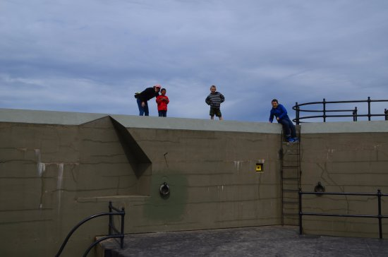 Coupeville, WA: Climbing on the Fort