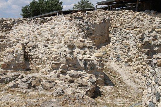 Larnaka District, Cyprus: mur d'enceinte