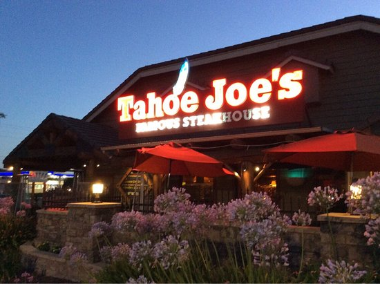tahoe joe 39 s famous steakhouse restaurants modesto menu prices restaurant reviews tripadvisor. Black Bedroom Furniture Sets. Home Design Ideas