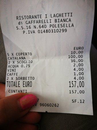 Polesella, Italie : Rapporto qualità prezzo molto buono!(catalana un po'caruccia ma con quello che contiene li vale