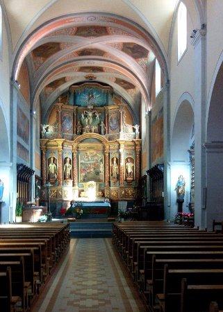 Thones, ฝรั่งเศส: L'église de St Maurice
