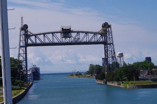 The Welland Canal: Time to exit Canal into Lake Erie
