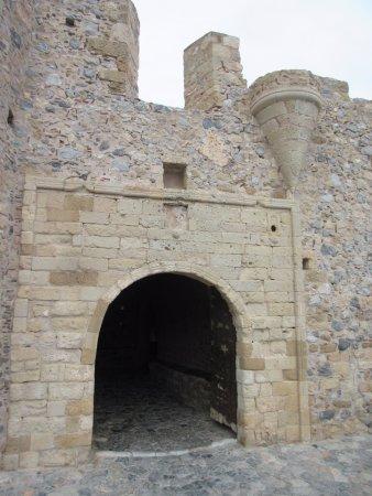 Kellia : Ingang kasteelstadje Monemvasia
