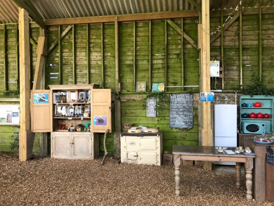 Malborough, UK: Walkers Hut