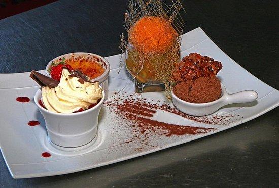 Seltz, Frankrike: dessert
