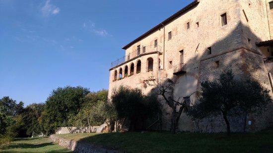 Амелия, Италия: Vista sud del convento