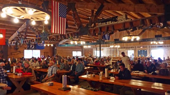 Wilson, WY: Inside the Dining Hall