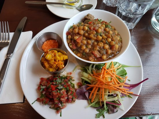 Drogheda, Ireland: chickpeas curry